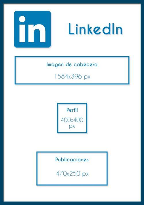 Medidas para LinkedIn