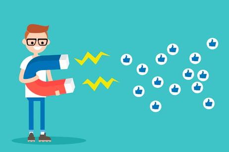 cómo atraer likes y engagement millennials